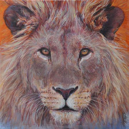 Leo Orange 2012 50x50