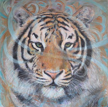 Tiger Pat 2011 80x80