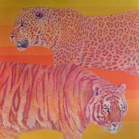 Tiger Leopard 2009 100x100