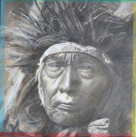 Bull Chief 2011 60x60